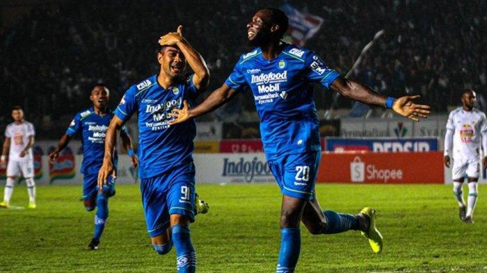 ILUSTRASI - Pertandingan Persib Bandung di Liga 1 2020 lalu