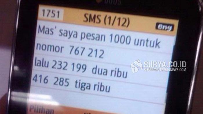 Wanita 50 Tahun di Malang Terlibat Judi Online, Manfaatkan SMS dan WhatsApp untuk Tombokan