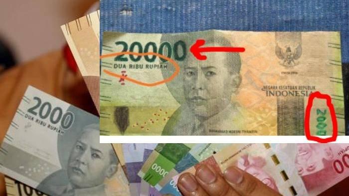 Pembeli Nakal Tipu Pedagang Manisan, Uang 2000 'Disulap' 20.000, Angka Nol Terakhir Digambar Sendiri