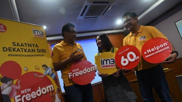 Luncurkan Paket New Freedom, IM3 Ooredo Imbangi Peningkatan Trafic Data Saat Ramadhan Dan Lebaran