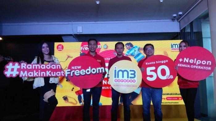 Indosat Luncurkan Paket New Freedom