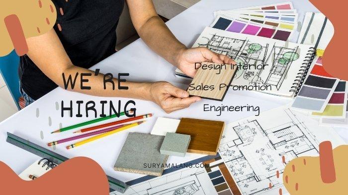 Lowongan Kerja Malang Senin 27 September 2021: Design Interior, Sales, Engineering dan Lain-lain