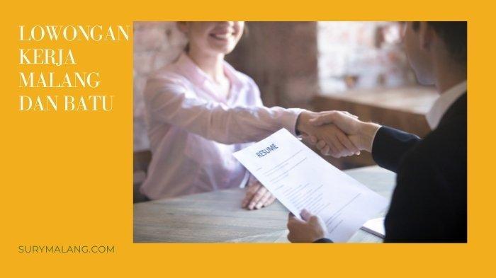 Lowongan Kerja Malang Senin 6 September 2021, Walk In Interview Sales Hotel dan Business Officer