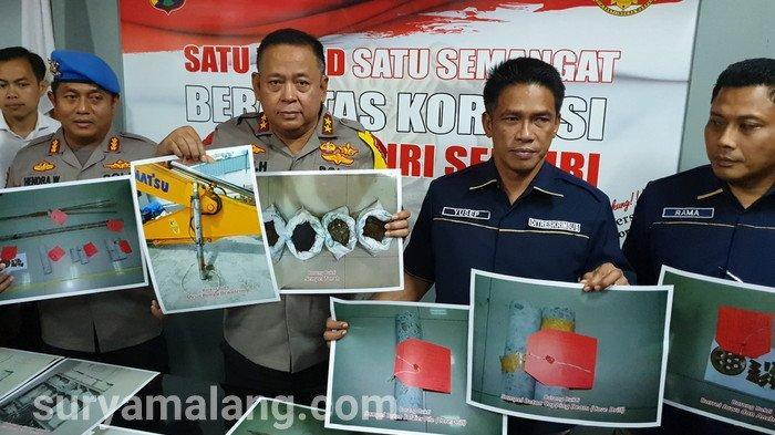 Inilah Enam Tersangka Terkait Amblesnya Jalan Gubeng Surabaya