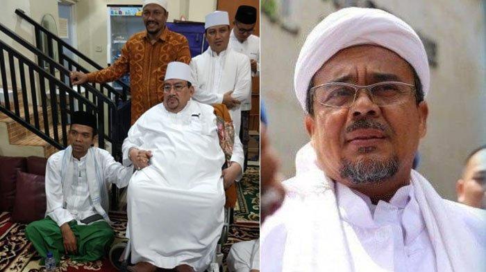 Innalillahi. Kabar Duka Disampaikan Ustadz Abdul Somad, Guru Pimpinan FPI Habib Rizieq Meninggal