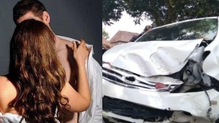 Instan Karma Hasil Bawa Kabur Istri Orang, Pria Ini Dihajar Massa & Mobilnya Remuk, Viral di Medsos