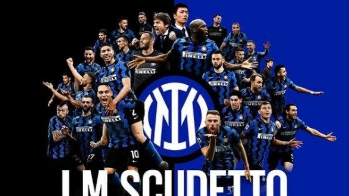 Inter Milan Juara Liga Italia2020-2021, Setelah 11 Tahun Puasa Gelar Scudetto