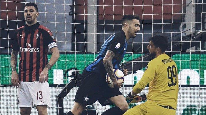 Inter Milan Kalahkan AC Milan di Derbi Milan, Pesta 5 Gol di San Siro