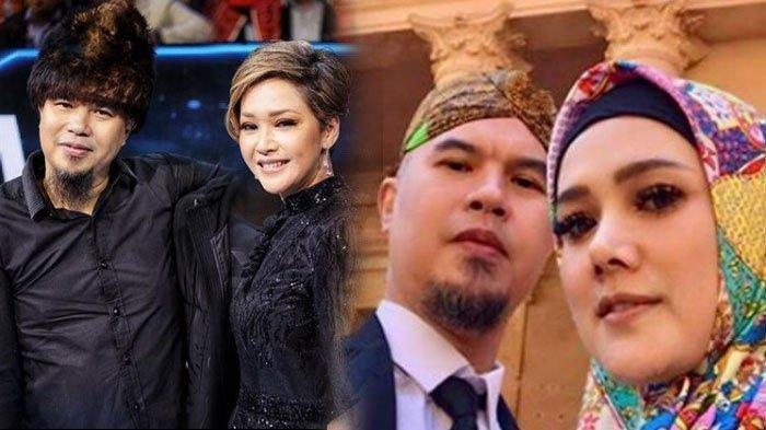 Potret Maia Estianty, Ahmad Dhani dan Mulan Jameela