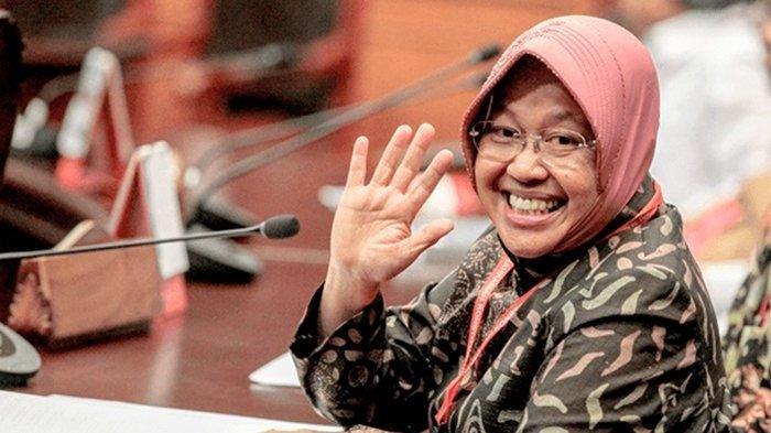 Bu Risma Rangkap Jabatan sebagai Menteri Sosial dan Wali Kota Surabaya, Jokowi Katakan Ini Padanya