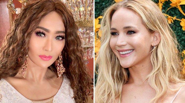 Inul Daratista Samakan Diri dengan Artis Hollywood Jennifer Lawrence, Model Rambut Tuai Komentar