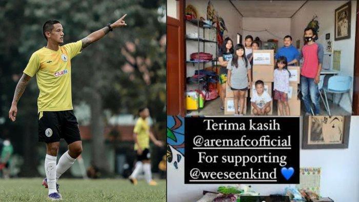 Kode Irfan Bachdim ke Arema FC Semakin Kuat, Mantan Persema Malang Ini Ucapkan Terimakasih ke Arema