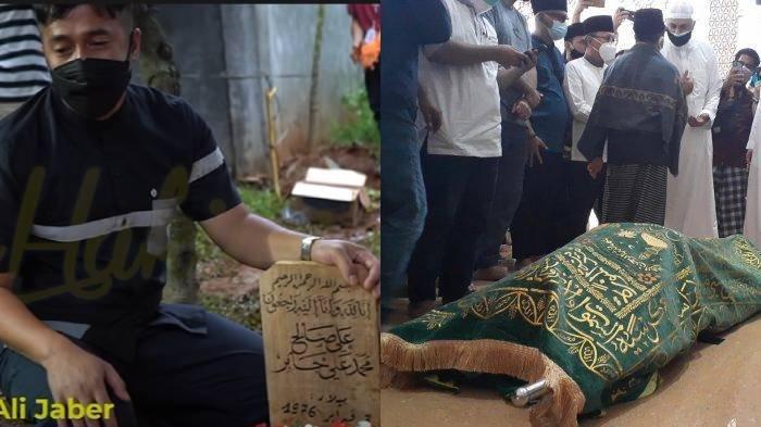 Wajah Syekh Ali Jaber Terakhir Kali Sebelum Dikubur, Irfan Hakim Menangis: Masya Allah Senyum
