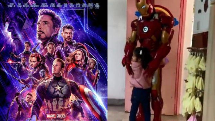 Demam Film Avengers: Endgame, Kisah Seorang Ayah Rela Jadi Iron Man Untuk Putrinya, Ini Alasannya