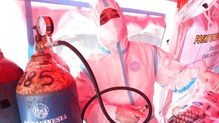 Isi Ulang Tabung Oksigen Bisa di Posko Darurat Gresik