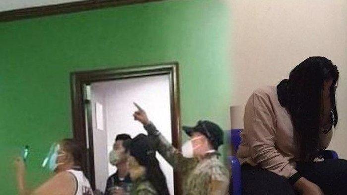 Istri Ngumpet di Atap Kamar Hotel Saat Kepergok Suami Berbuat Dosa, Bilang Lembur Ternyata Selingkuh