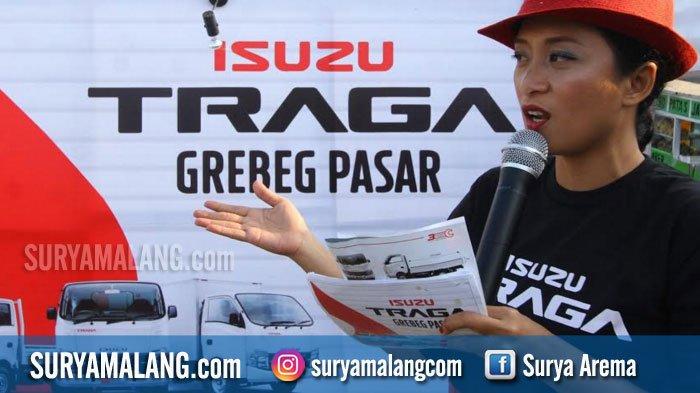 19 Orang Tertarik Test Drive Mobil Isuzu Traga di Pasar Gadang, Kota Malang