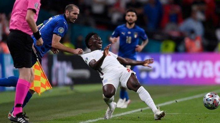 Hasil Pertandingan Italia Vs Inggris Final Euro 2020  Bak Mengulang Laga Final Piala Dunia 2006