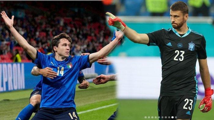 Prediksi Pertandingan Italia Vs Spanyol, Siaran Langsung RCTI Semifinal Piala Eropa 2020 Malam Ini