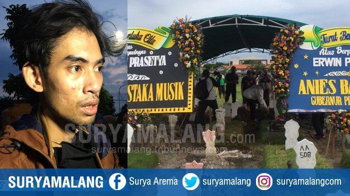 Dari Pemakaman Erwin Prasetya, Eks Bassist Dewa 19 di Surabaya, Jaco : Papa Sosok Panutan & Sabar