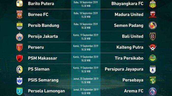 Jadwal Acara SCTV TRANS TV GTV RCTI Indosiar TVONE Hari Jumat 20 September, Laga Persebaya & Arema