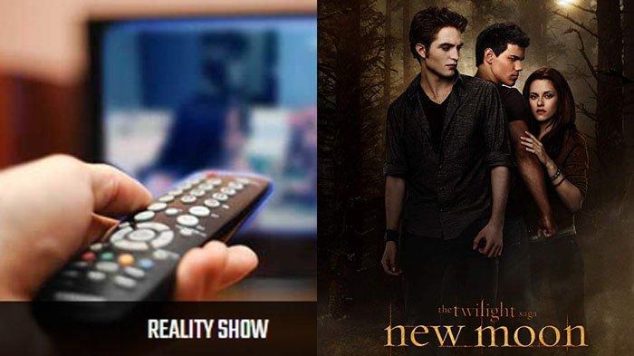 Jadwal Acara SCTV TRANS TV GTV RCTI Indosiar TVONE Jumat 29 November, Ada Film Twilight: New Moon