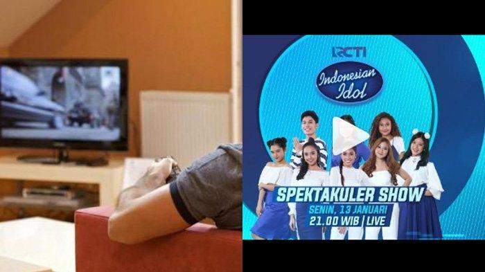 Jadwal Acara SCTV TRANS TV GTV RCTI Indosiar tvOne Senin 13 Januari 2020, ada Indonesian Idol