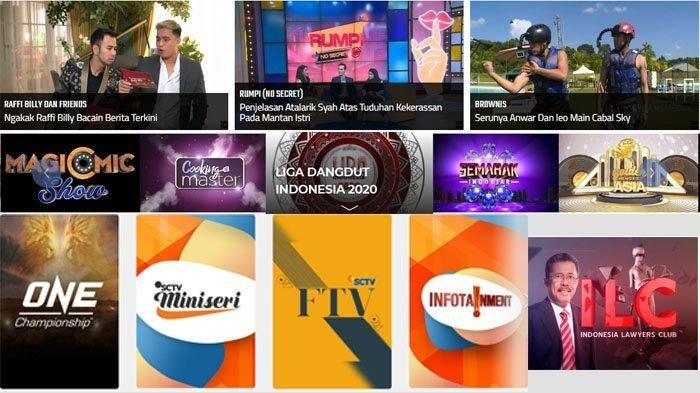 Jadwal Acara SCTV TRANS TV GTV RCTI Indosiar tvOne, Senin 16 September 2019, Film Bioskop & Dangdut