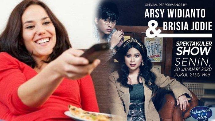 Jadwal Acara SCTV TRANS TV GTV RCTI Indosiar tvOne Senin 20 Januari 2020, Ada Indonesian Idol