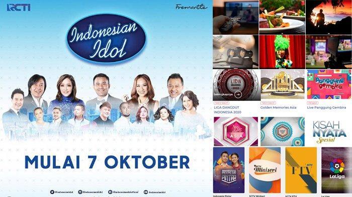 Jadwal Acara SCTV TRANS TV GTV RCTI Indosiar tvOne, Senin 7 Oktober 2019, Ada Indonesian Idol 2019