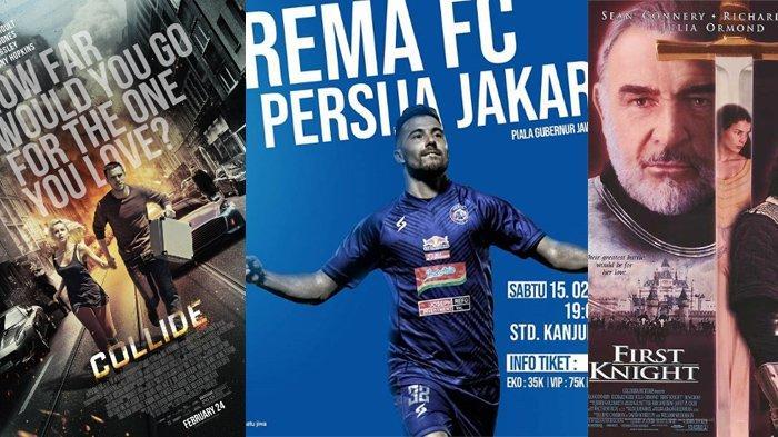 Jadwal Acara SCTV TRANS TV RCTI Indosiar tvOne, MNCTV, Sabtu 15 Februari 2020, Arema FC vs Persija