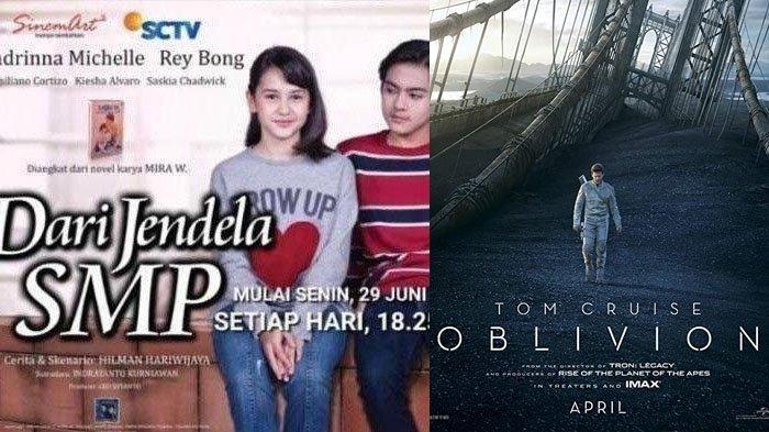 Jadwal Acara TV Hari Ini 9 Agustus 2020, SCTV TRANS RCTI Indosiar GTV ANTV: FTV dan Film Oblivion