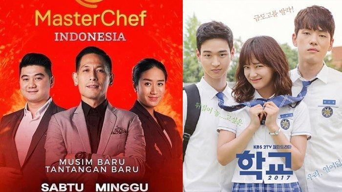 Jadwal Acara TV Hari Ini Minggu 11 Juli 2021, SCTV TRANS RCTI Indosiar GTV NET: Masterchef Indonesia
