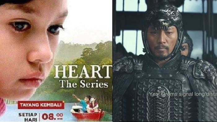 Jadwal Acara TV Hari Ini Sabtu 23 Mei 2020 RCTI, GTV, Antv, Trans TV dan Trans 7: ada Heart Series