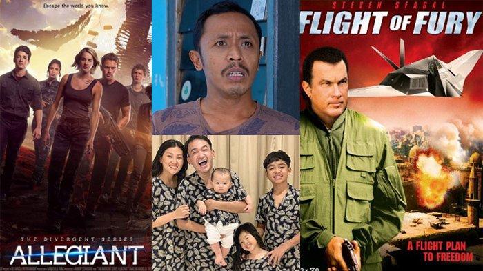 Jadwal Acara SCTV TRANS TV RCTI Indosiar tvOne GTV Jumat 28 Februari 2020, Ada The Divergents Series