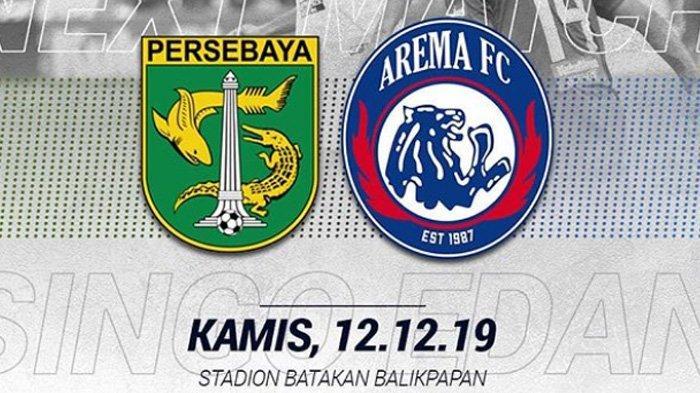 Jadwal Acara SCTV TRANS TV GTV RCTI Indosiar TVONE Kamis 12 Desember, Ada Persebaya vs Arema