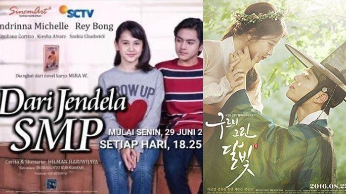 Jadwal Acara TV Kamis 9 Juli 2020, SCTV TRANS RCTI Indosiar GTV ANTV: Drakor dan Dari Jendela SMP