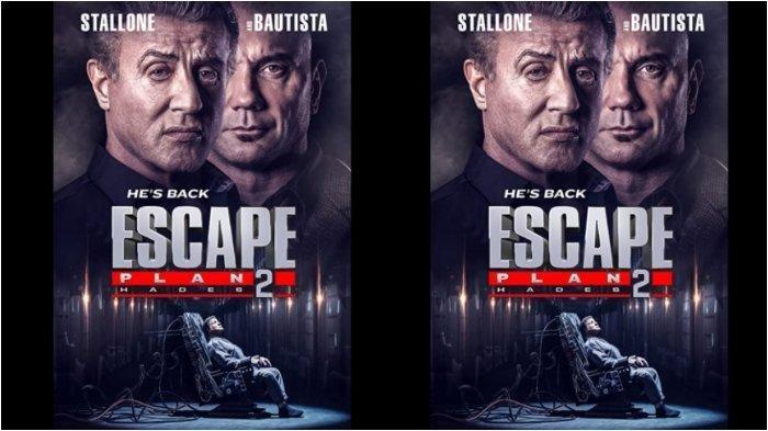 Jadwal Acara TV Selasa 14 September 2021 SCTV TRANS Indosiar RCTI GTV ANTV NET: Film Escape Plan 2