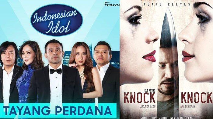 Jadwal Acara SCTV TRANSTV GTV RCTI Indosiar TVONE Selasa 8 Oktober 2019, Indonesian Idol Jam 9 Malam