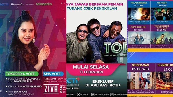 Jadwal Acara SCTV TRANS TV GTV RCTI Indosiar tvOne, Senin 3 Februari 2020, Ada Indonesian Idol