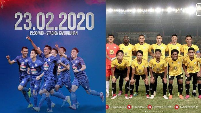Jadwal Arema FC vs Barito Putera, Laga Uji Coba, Aremania Siap-siap Perkenalan Skuat Liga 1 2020