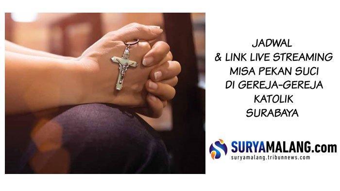 Link Live Streaming Misa Online Gereja Katolik Surabaya & Malang Hari Pentakosta Sabtu 30 Mei 2020