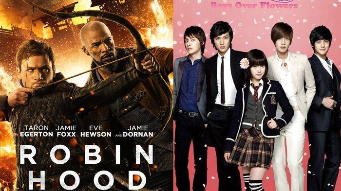 Jadwal Film dan Drakor Kamis 30 September 2021 Trans TV Net TV GTV: Ada Robin Hood dan BBF