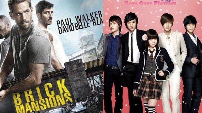 Jadwal Film dan Drakor Minggu 3 Oktober 2021 Trans TV Net TV GTV: Brick Mansions dan Fast & Furious