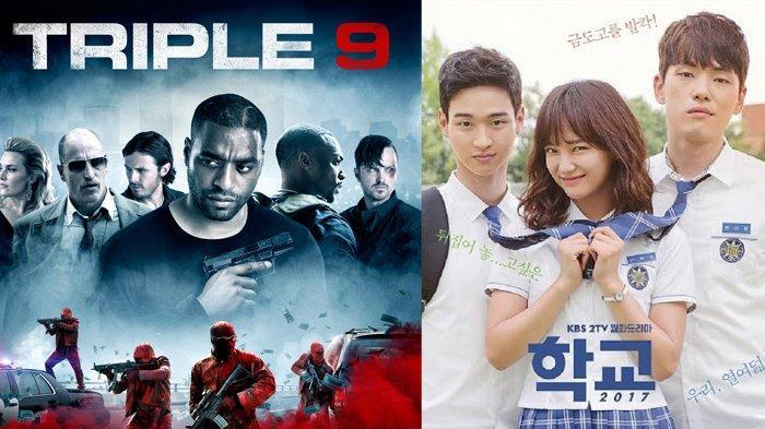 Jadwal Film dan Drakor Selasa 13 Juli 2021 di Trans Net TV dan GTV, Lengkap dengan Sinopsis Triple 9