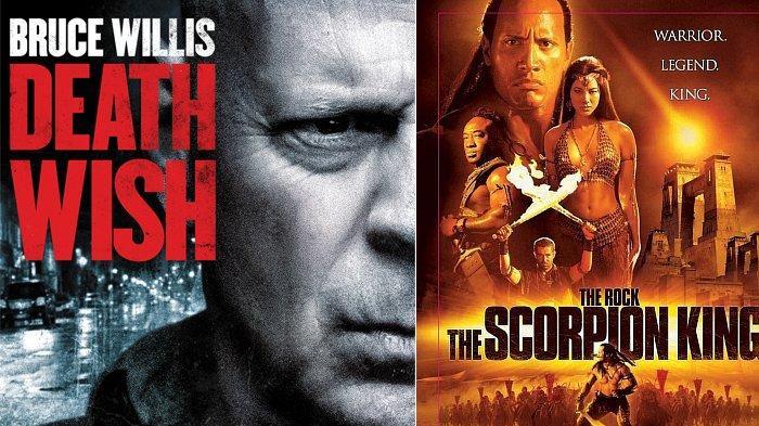 Jadwal Film dan Drakor Selasa 7 September 2021 di Trans TV Net TV GTV: Death Wish & Scorpion King