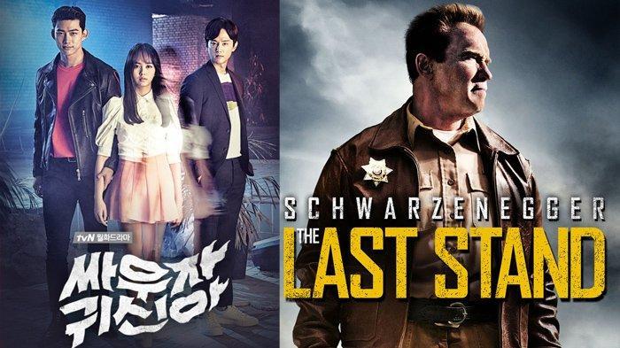 Jadwal Film dan Drakor Senin 5 Juli 2021 di Trans Net TV dan GTV: The Last Stand & Let's Fight Ghost
