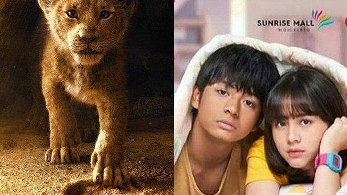 Jadwal Film Bioskop Minggu Ini, Dari Lion King, Dua Garis Biru sampai Ikut Aku ke Neraka