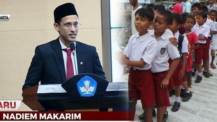 Jadwal Masuk Sekolah Tahun 2021 Versi Menteri Nadiem Makarim, Ada Dampak Negatif Jika Sekolah Online