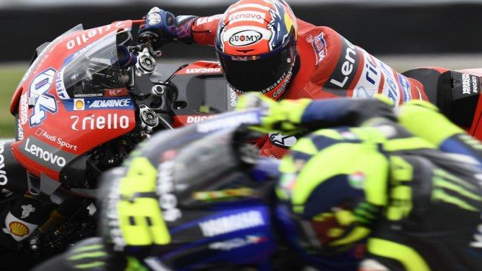 Jadwal MotoGP Argentina 2019, Valentino Rossi Masih Tercecer, Andrea Dovizioso Memimpin di FP 2